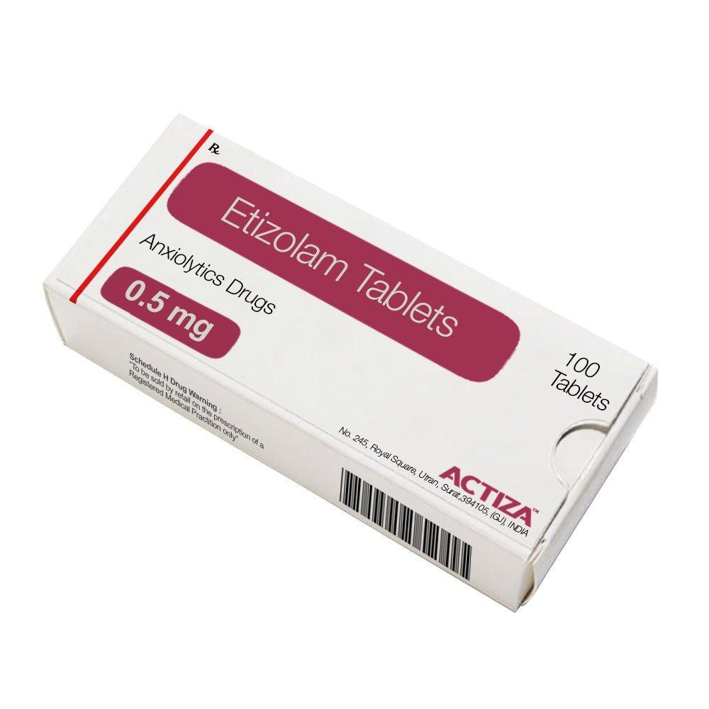 Etizolam Tablets - Actiza Pharmaceutical   Pharmaceutical Manufacturer